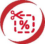 trade discounts icon