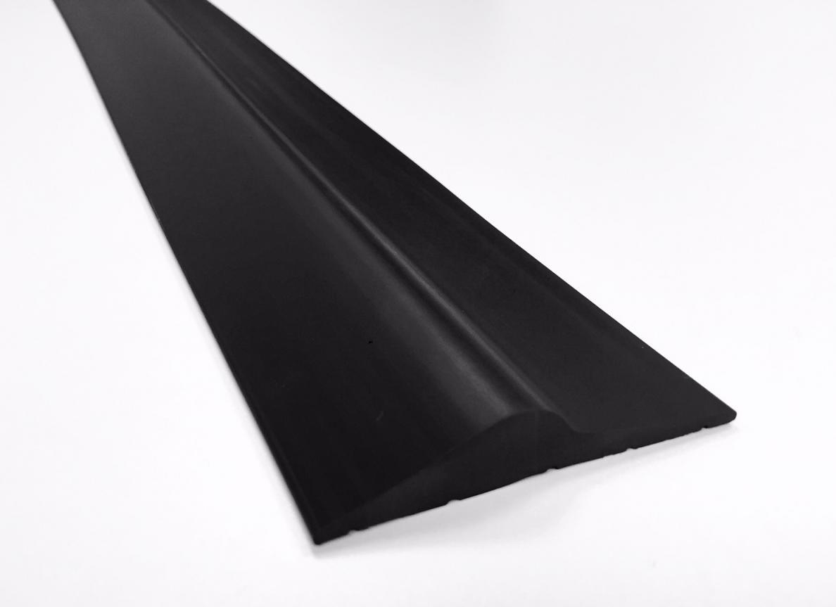 15mm Black Rubber Garage Threshold Seal Ja Seals