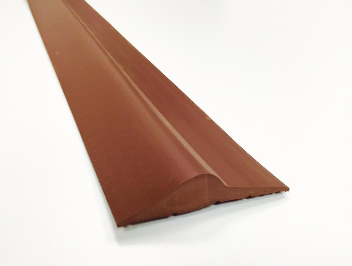 15mm Brown Rubber Threshold Seal Ja Seals