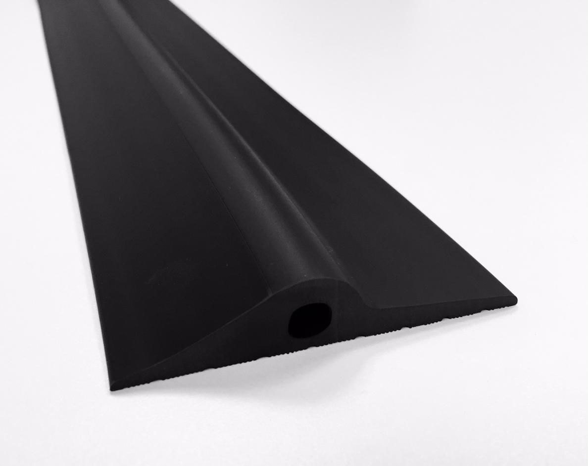 20mm black rubber garage threshold seal ja seals for Door rubber seal