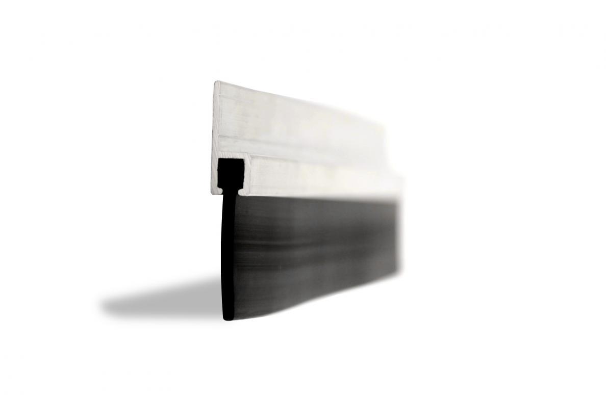 25mm rubber blade garage door seal ja seals for Door rubber seal