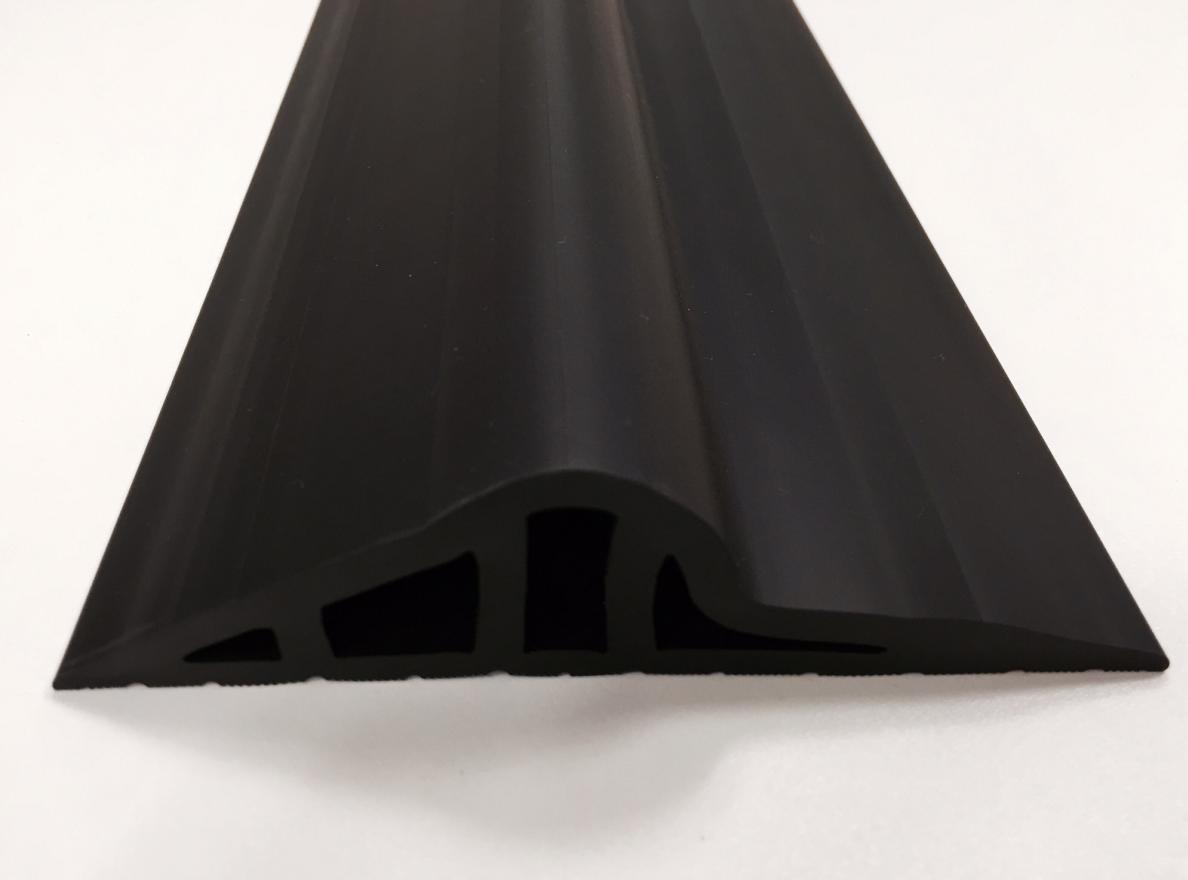 30mm Black Rubber Garage Threshold Seal Ja Seals