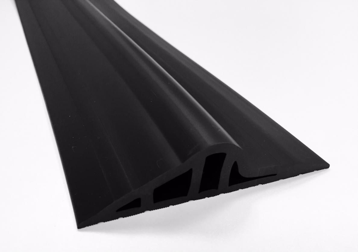 30mm Black Rubber Threshold Seal Ja Seals