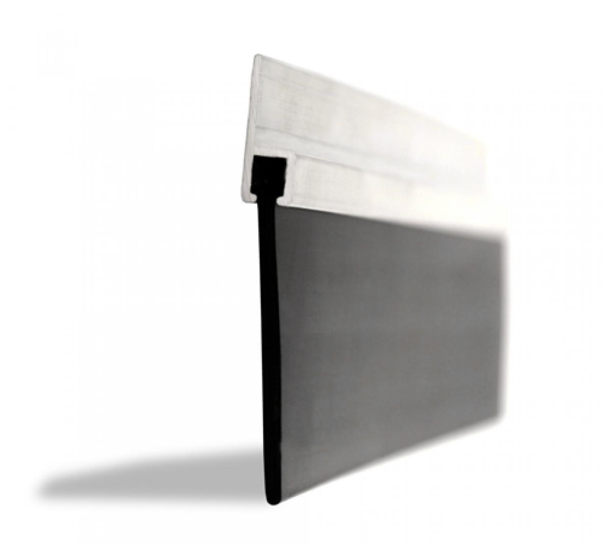 Garage door side seal strip - 50mm Rubber Blade Garage Door Seal