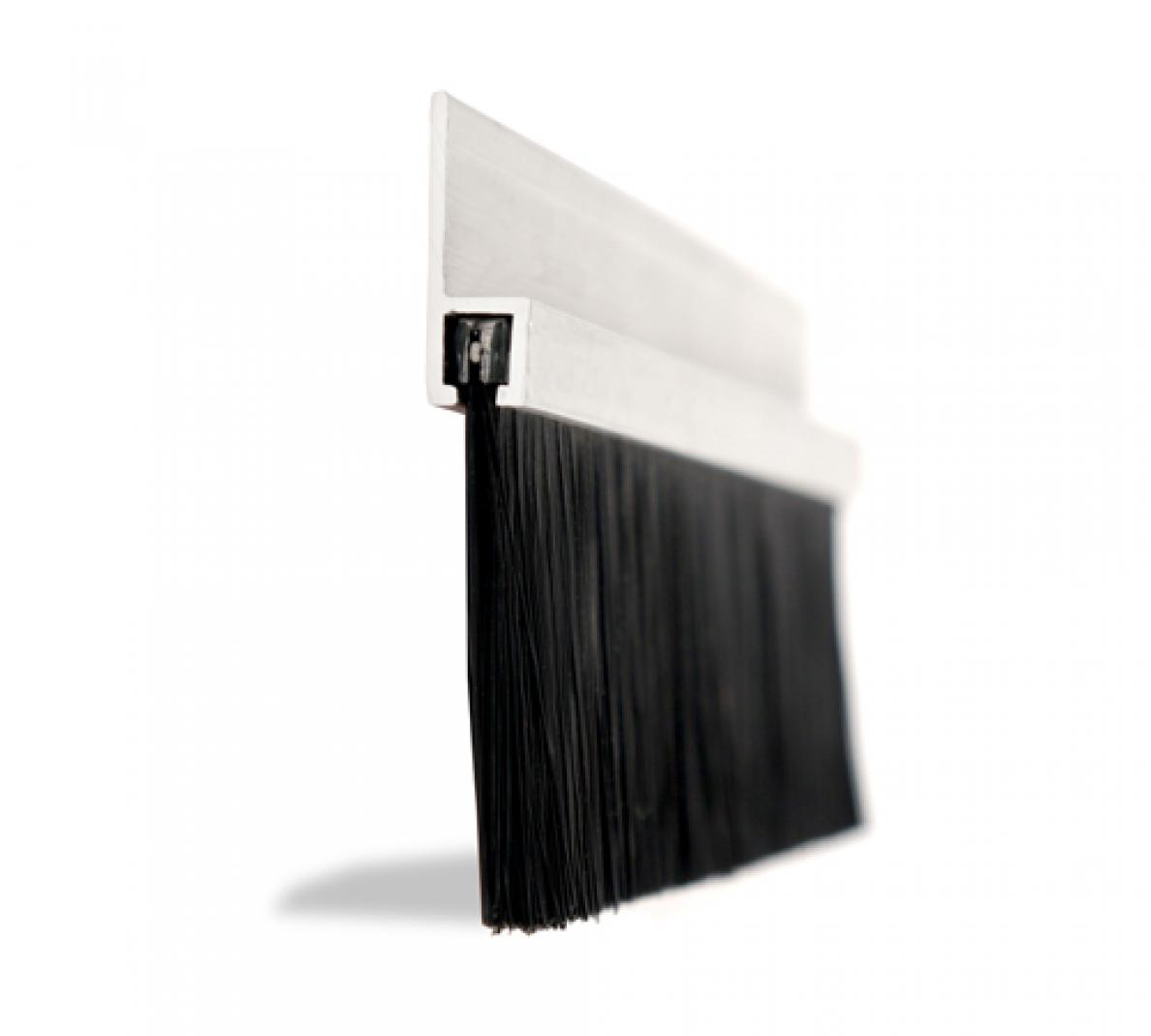 Garage Door Rubber Seal >> 75mm Section 3 Industrial Brush Strip | JA Seals