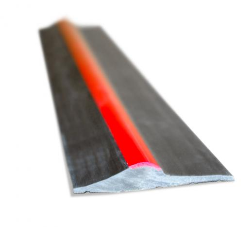 15mm Black Red Stripe Rubber Threshold Seal Ja Seals