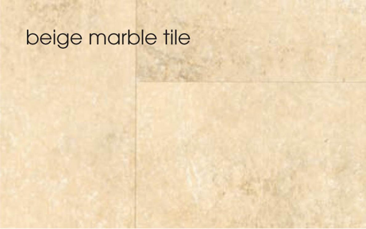 Marbrex Beige Marble Tile Wall Panel 3 Lengths Per Pack