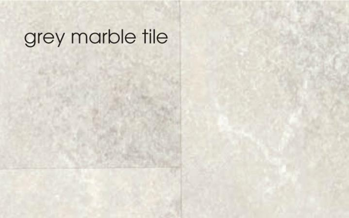 Marbrex Grey Marble Tile Effect Wall Panel (4 lengths per pack)  1