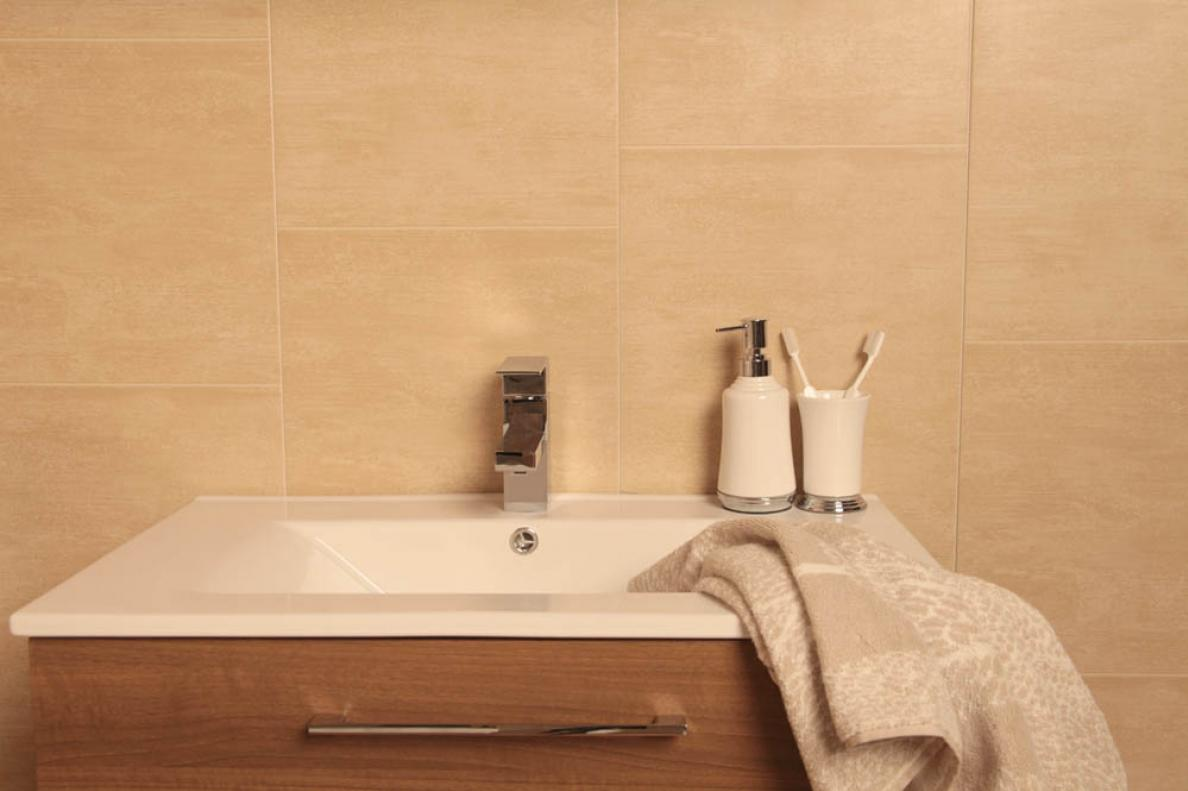 bathroom wall tiles uk marbrex sandstone wall panel 3 lengths per pack dc87c16 17171