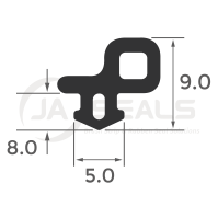 Window & Door Bubble Gasket Seal B047